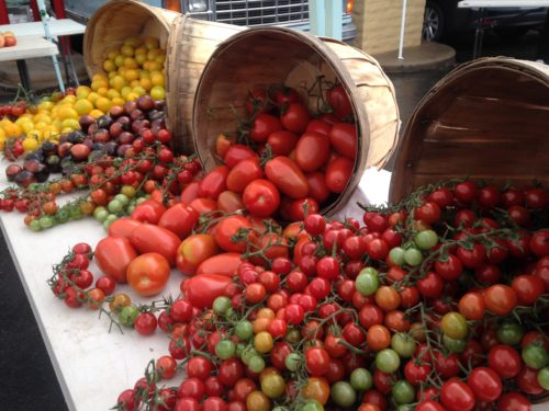 Abby Lee Farms Basket of Cherry Tomatoes